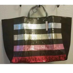 Victoria's Secret Tote Bag Sequin